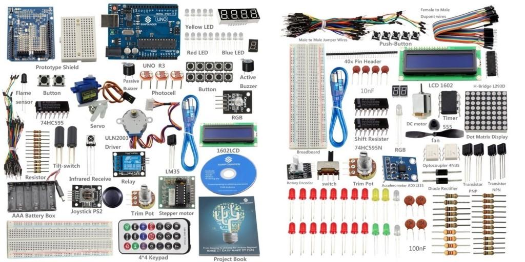 SunFounder Arduino Starter Kits